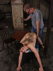 Spank for young boy ass