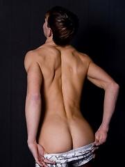 Paul Tillrooth, cute boy posing naked
