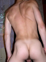 Hot twink shows off his willing hairless asshole