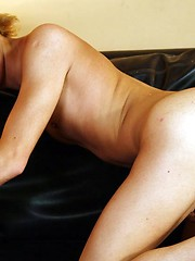 Sweet blond twink done anally for a messy facial