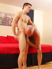 Young gay boy Tyler Sweet coupling with older guy Jake