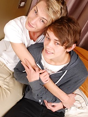 Hot twink action