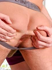Boys takes off their panties
