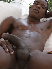 Cute White Lad Gets Skewered By Horny Dominican's Big Black Fuck-Rod!