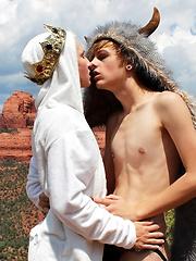 Bareback Riding In The Desert