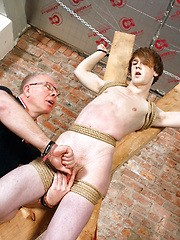 Another Sensitive Cock Drained