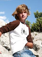Innocent twink boy Leo