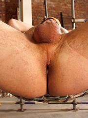 Ball Abuse For Bottom Boy Rhys