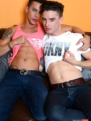 Same Name, Same Lust For Dick - Angel & Johny Cruz Hang Out For A Jizz-Filled Workout!