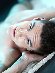 Horny Masseur Gives Sam Williams A Total Body Rubdown - And A Hard, Raw Fuck!